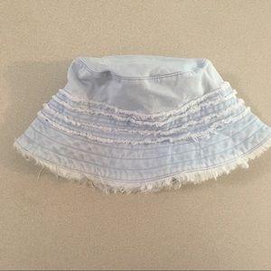Gap | Light Wash Denim Frayed Bucket Hat M/L